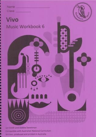 Image for Kookaburra Music Vivo Senior Primary Music Workbook - Year 6